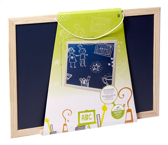 Afbeelding van DreamLand Groot zwart krijtbord from ColliShop