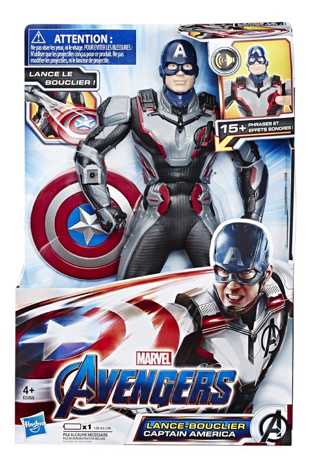 Image pour Hasbro figurine articulée Avengers Lance-bouclier Captain America à partir de ColliShop