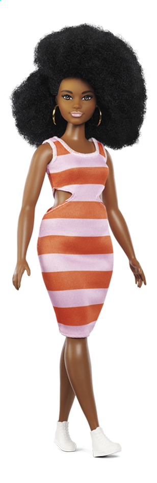 Image pour Barbie poupée mannequin  Fashionistas Curvy 105 - Bold Stripes à partir de ColliShop