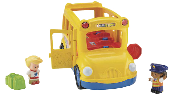 Image pour Fisher-Price Little People schoolbus Lil'Movers NL à partir de ColliShop