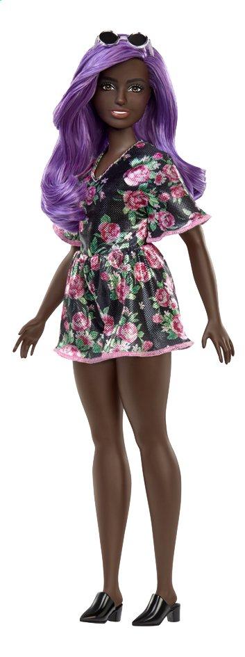 Image pour Barbie poupée mannequin  Fashionistas Curvy 125 - Pink Roses à partir de ColliShop