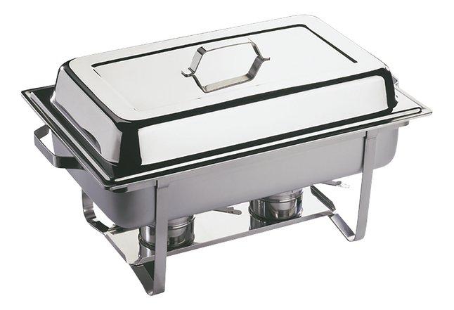 APS Récipient bain-marie Chafing Dish L 61 x Lg 36 cm