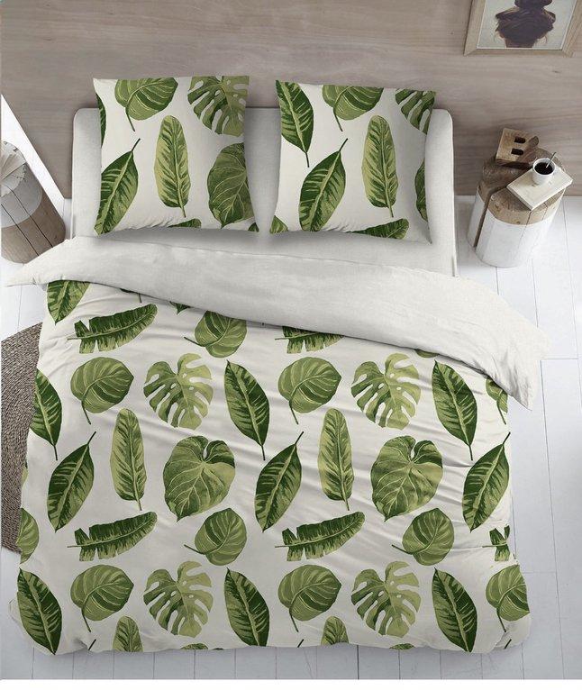 housse de couette jungle coton 240 x 220 cm collishop. Black Bedroom Furniture Sets. Home Design Ideas