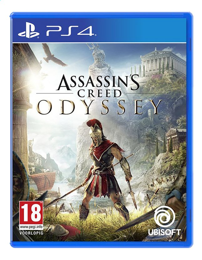 Afbeelding van PS4 Assassin's Creed Odyssey ENG/FR from ColliShop