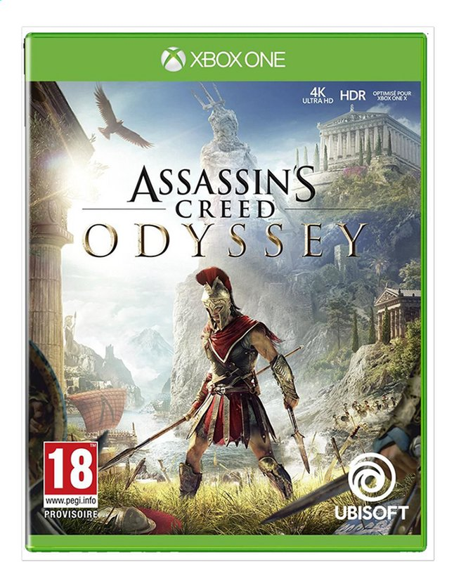 Xbox One Assassin's Creed Odyssey ENG/FR