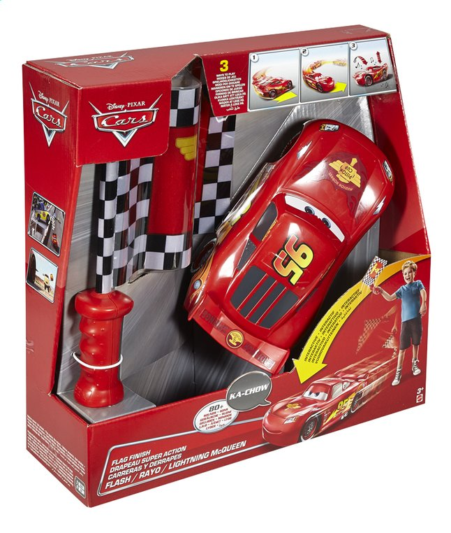 Afbeelding van Speelset Disney Cars Flag Finish from ColliShop