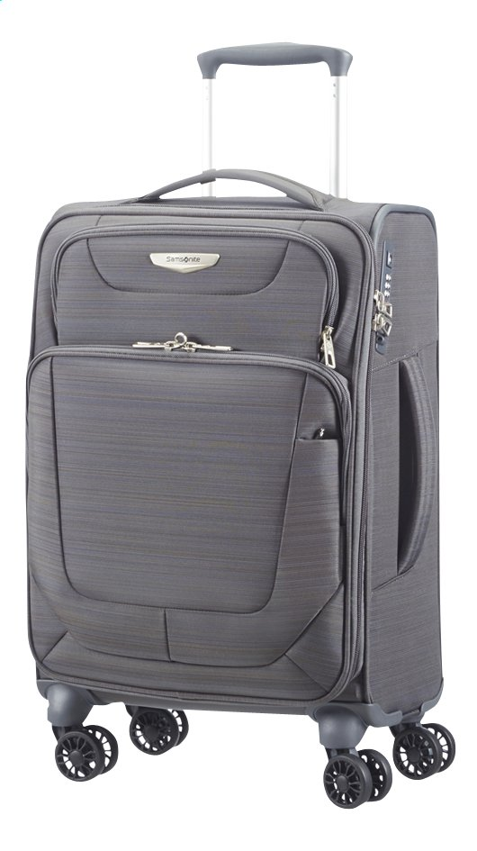 Image pour Samsonite Valise souple Spark Spinner grey 55 cm à partir de ColliShop