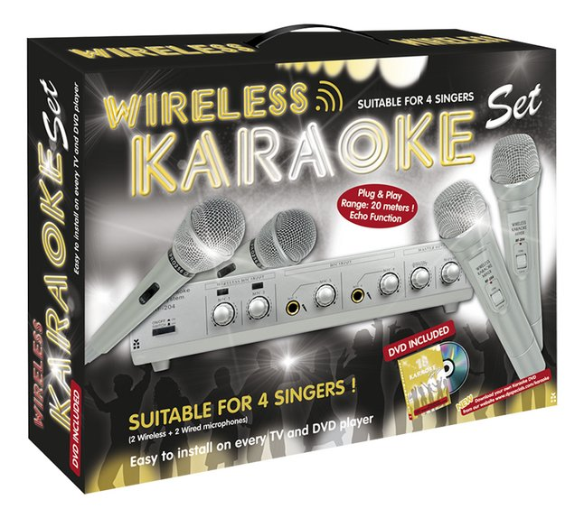 Afbeelding van Wireless Karaoke Set from ColliShop