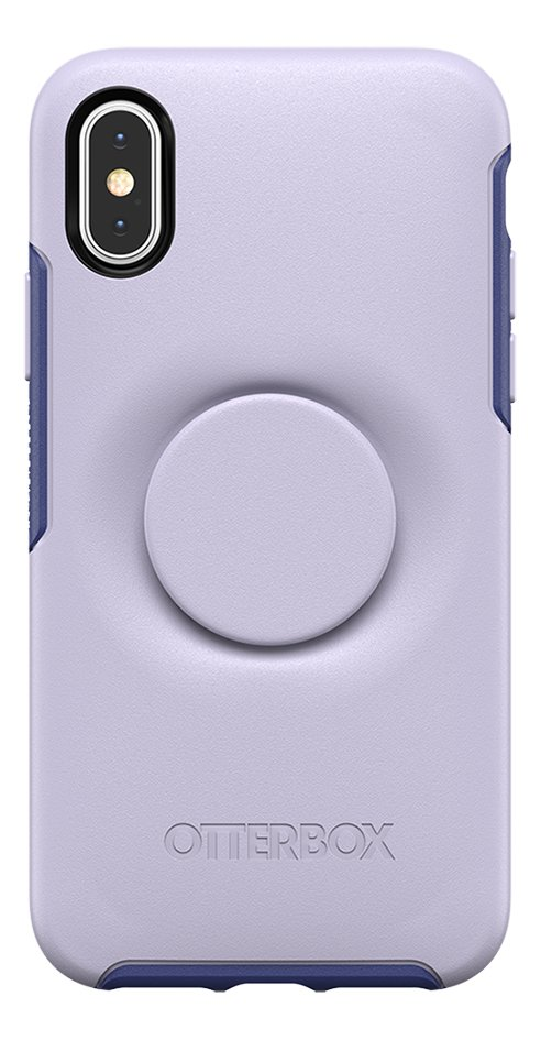 Afbeelding van Otterbox Cover Otter + Pop Symmetry Series Case voor iPhone X/Xs Lilac Dusk from ColliShop