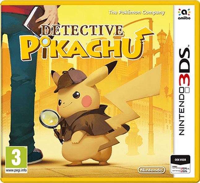 Afbeelding van Nintendo 3DS Detective Pikachu NL from ColliShop