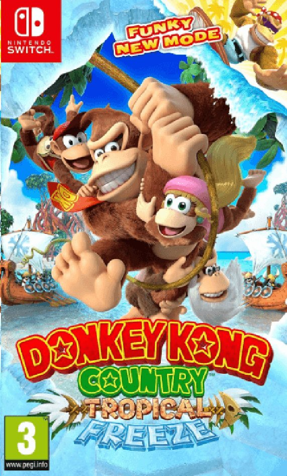 Image pour Nintendo Switch Donkey Kong Country Tropical Freeze FR à partir de ColliShop