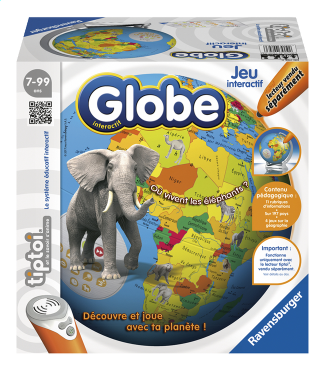 Ravensburger Tiptoi Globe interactif