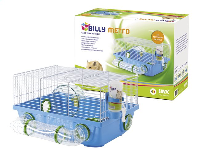 Afbeelding van Hamsterkooi Billy Metro from ColliShop