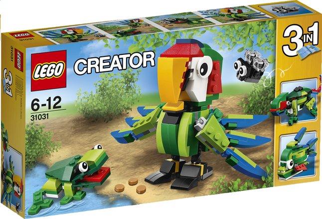 Image pour LEGO Creator 31031 Les animaux de la forêt tropicale à partir de ColliShop