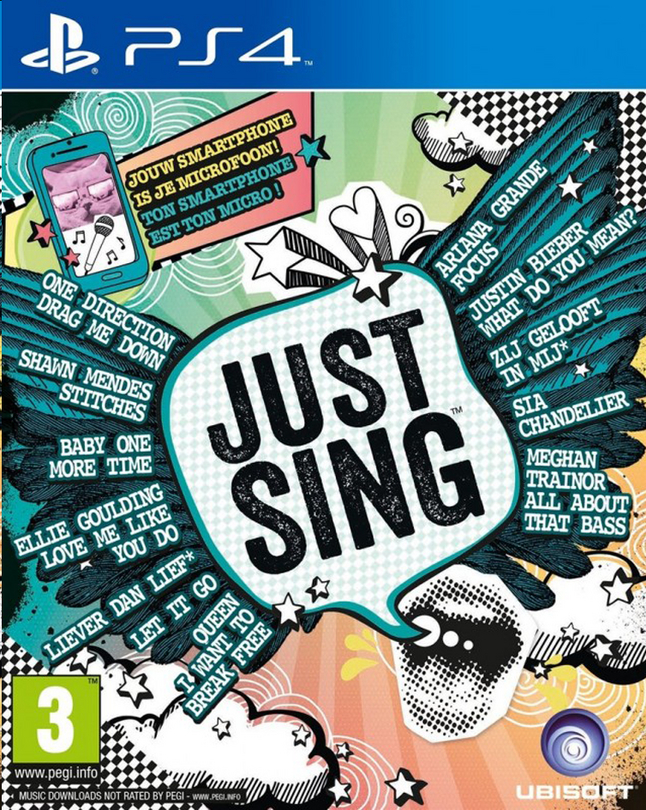 Image pour PS4 Just Sing FR/ANG à partir de ColliShop