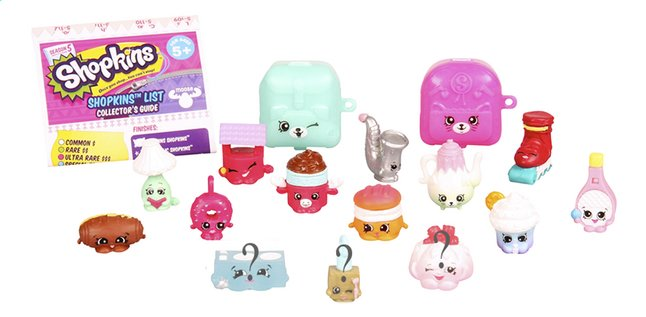 Afbeelding van Shopkins speelset 12 figuurtjes, Serie 5 from ColliShop
