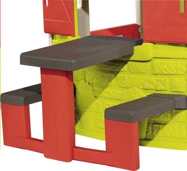 Smoby table pique-nique pour maisonnettes Neo Jura Lodge et My Neo House