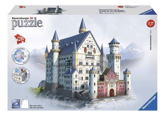 Image pour Ravensburger puzzle 3D Slot Neuschwanstein à partir de ColliShop