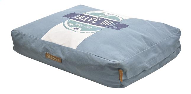 Afbeelding van Hondenkussen Brave Dog blauw B 75 cm from ColliShop
