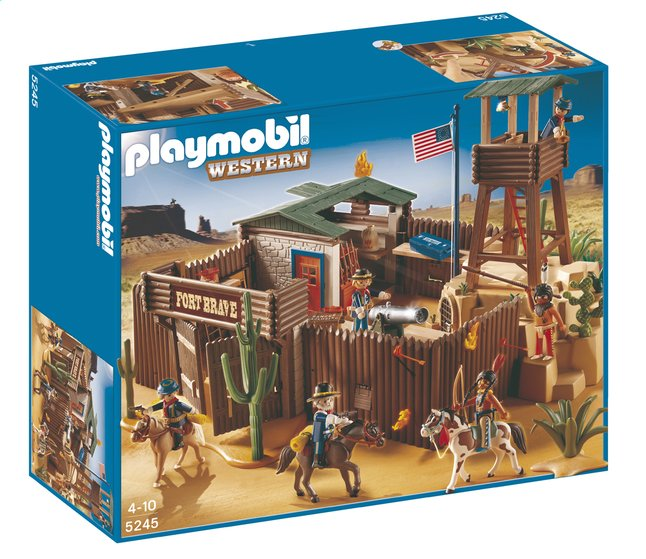 Afbeelding van Playmobil Western 5245 Western fort from ColliShop