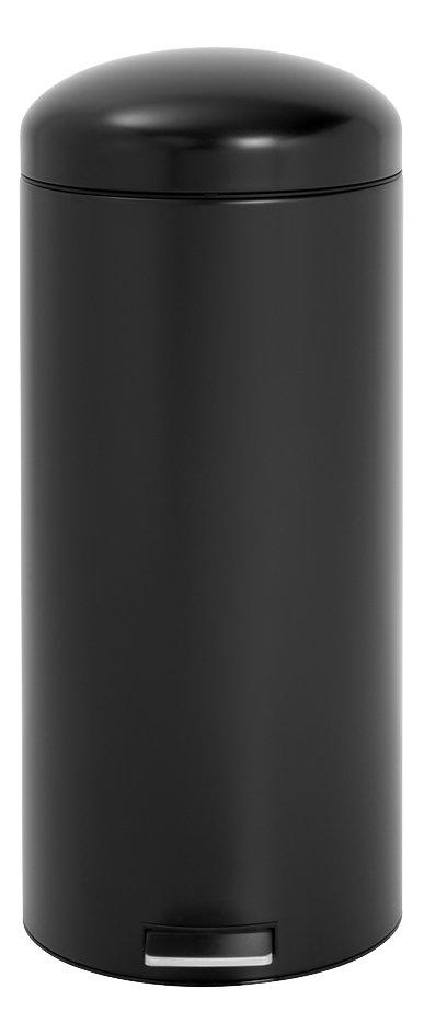 Image pour Brabantia poubelle à pédale Retro Bin 30 l noir mat à partir de ColliShop