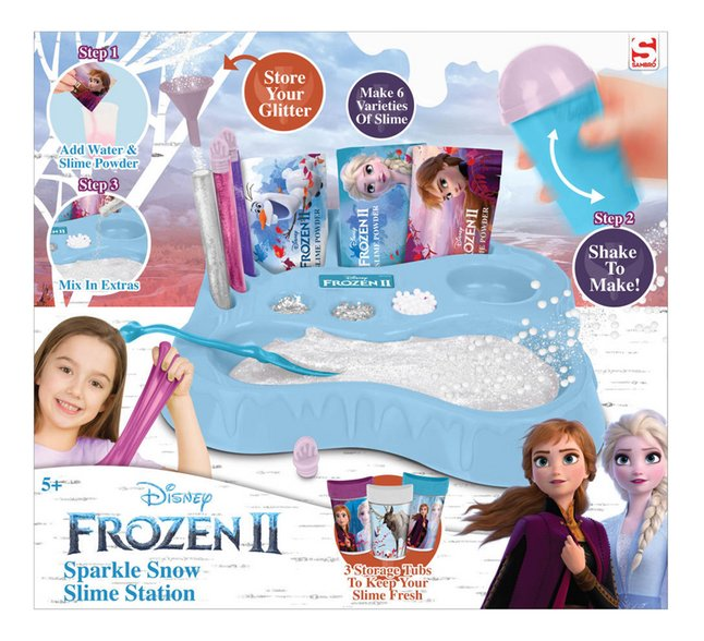Disney Frozen II Sparkle Snow Slime Station