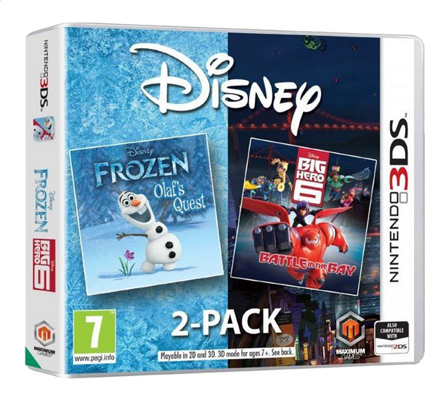 Afbeelding van Nintendo 3DS Frozen / Big Hero 6 2-pack ENG/FR from ColliShop