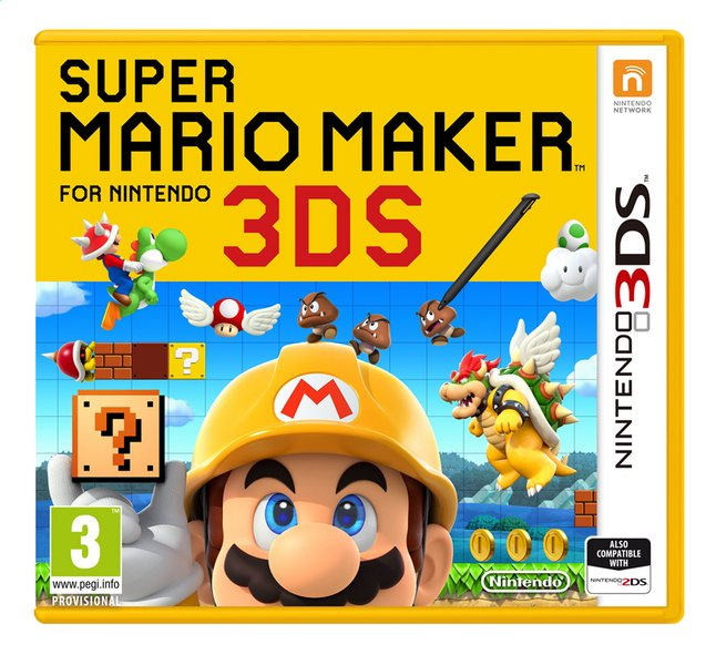 Afbeelding van Nintendo 3DS Super Mario Maker ENG from ColliShop