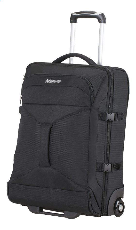 Afbeelding van American Tourister Reistas op wieltjes Road Quest Upright solid black 55 cm from ColliShop