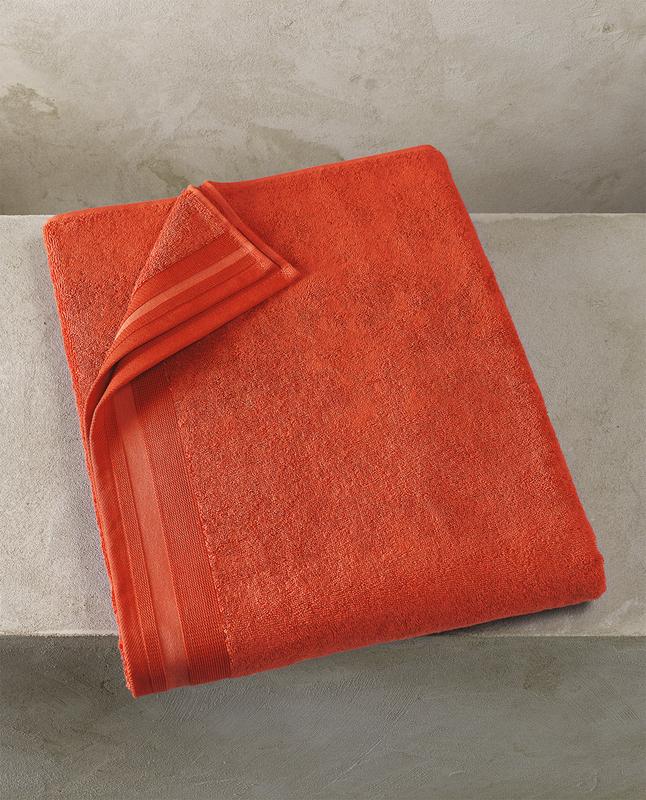 Image pour De Witte Lietaer Drap de bain Contessa burnt Lg 100 x L 150 cm à partir de ColliShop