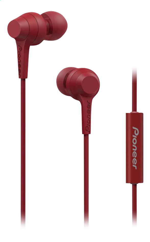 Afbeelding van Pioneer oortelefoon SE-C1T rood from ColliShop