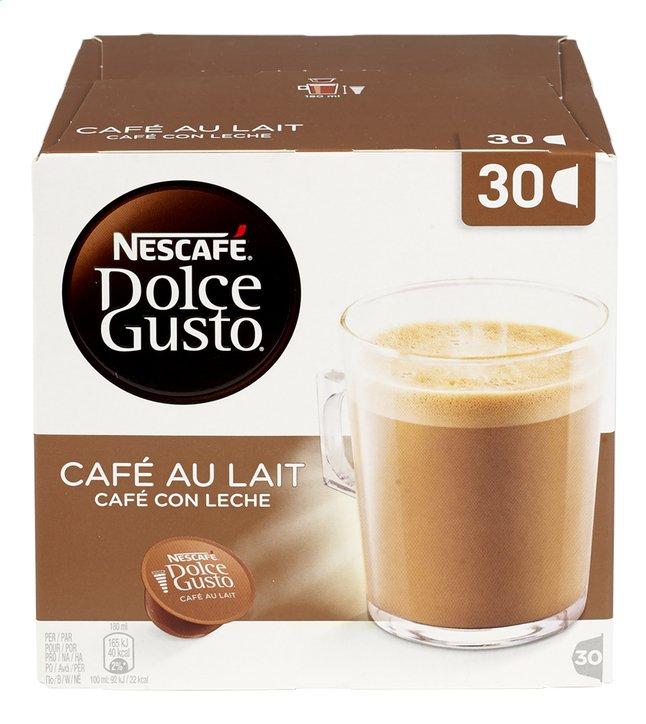 Afbeelding van Nescafé Capsules Dolce Gusto XL café au lait - 3 stuks from ColliShop
