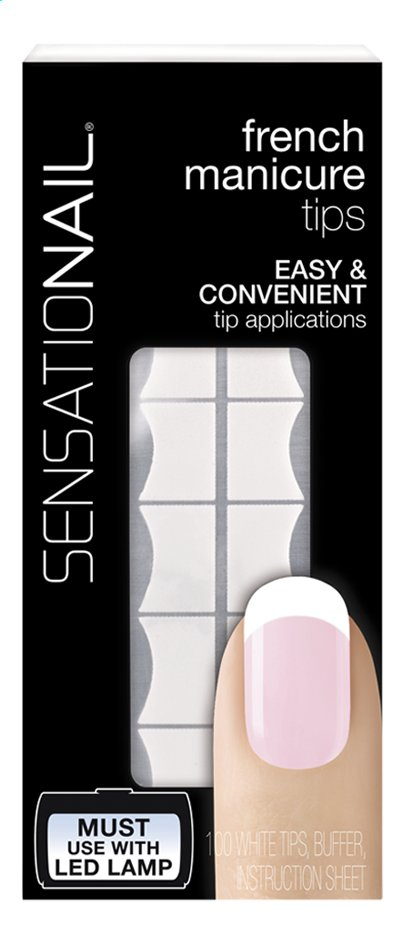 Afbeelding van SensatioNail French Manicure Tips from ColliShop