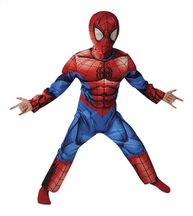 Afbeelding van Verkleedpak Spider-Man Deluxe maat 122/134 from ColliShop