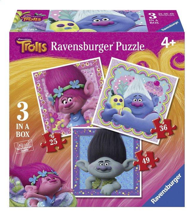 Image pour Ravensburger puzzle évolutif 3 en 1 Trolls à partir de ColliShop