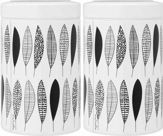 Image pour Brabantia 2 boîtes à provisions 1,4 l Pauline Black à partir de ColliShop