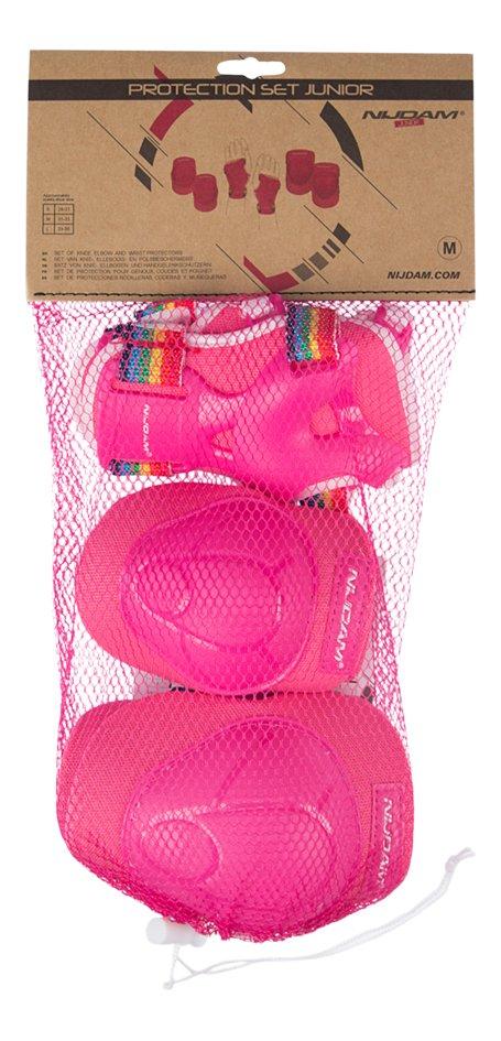 Nijdam beschermset voor kinderen 3D Rainbow M