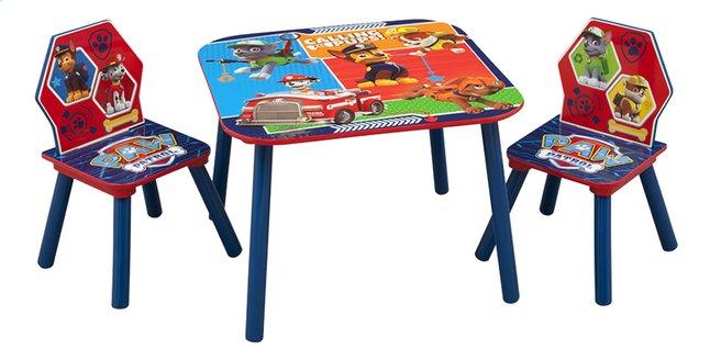 Image pour Table avec 2 chaises pour enfants Pat' Patrouille à partir de ColliShop