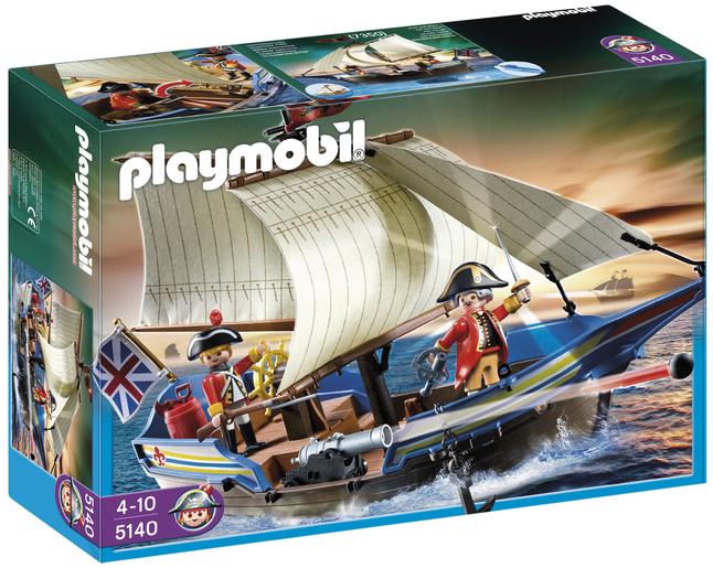 Image pour Playmobil Pirates 5140 Navire des soldats britanniques à partir de ColliShop