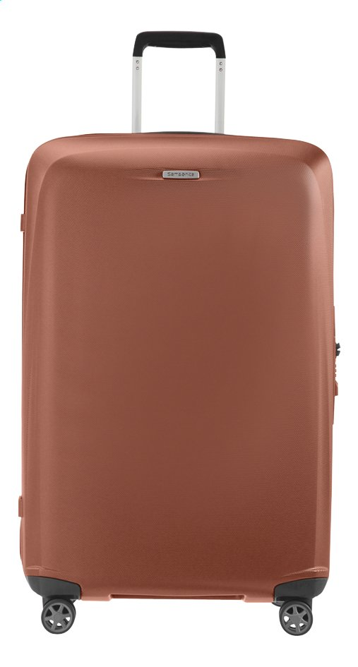 Afbeelding van Samsonite Harde reistrolley Starfire Spinner orange rust 75 cm from ColliShop