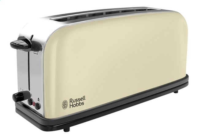 Afbeelding van Russell Hobbs Broodrooster Colours Classic Cream Long Slot from ColliShop