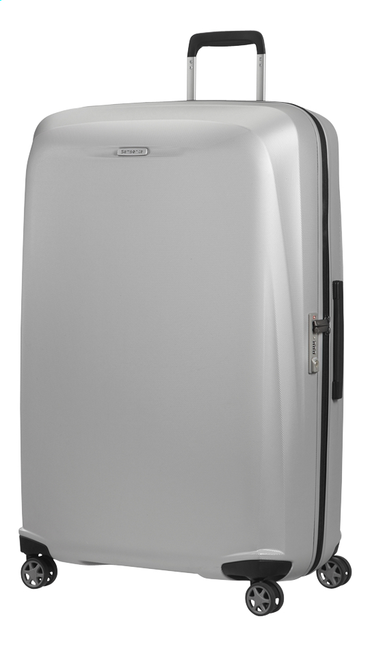 Afbeelding van Samsonite Harde reistrolley Starfire Spinner silver 82 cm from ColliShop