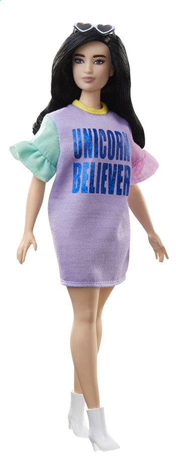 Image pour Barbie poupée mannequin  Fashionistas Curvy 127 - Unicorn Believer à partir de ColliShop