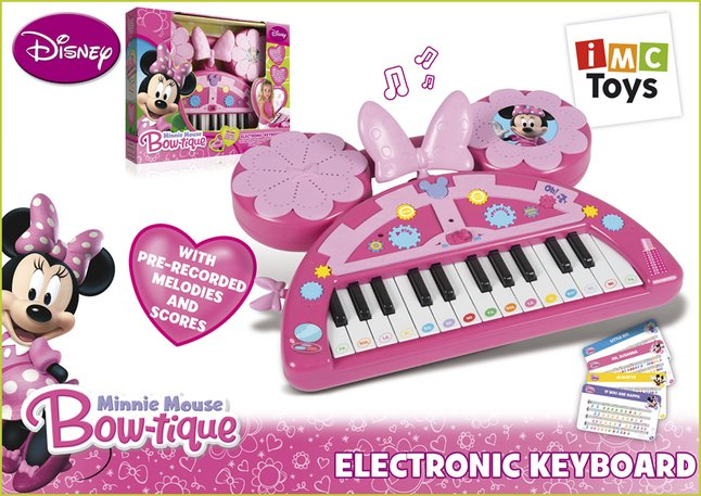 Afbeelding van Keyboard Minnie Mouse from ColliShop