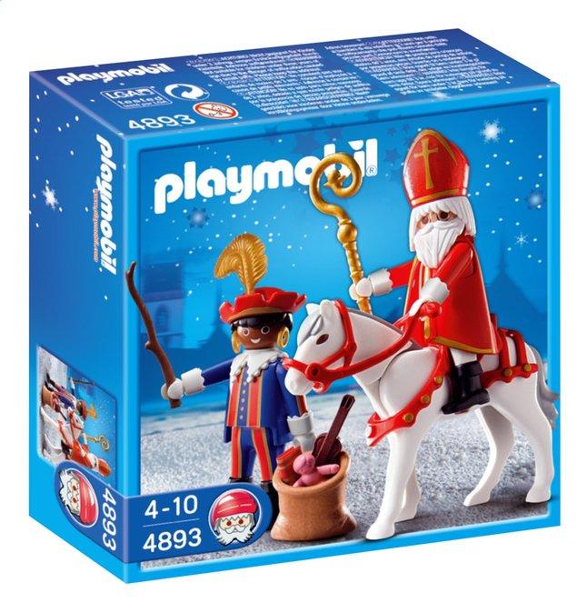 Image pour Playmobil Saint Nicolas 4893 Saint Nicolas et Père Fouettard à partir de ColliShop