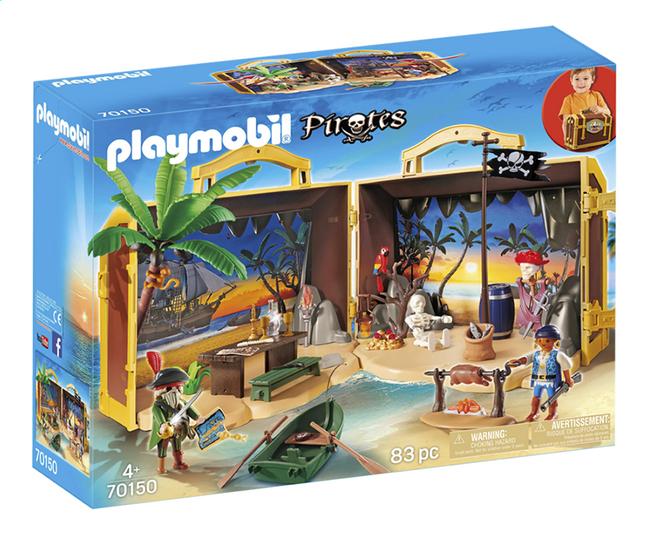 Afbeelding van PLAYMOBIL Pirates 70150 Meeneem pirateneiland from ColliShop