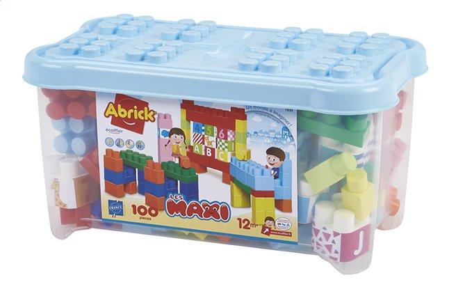 Abrick Maxi Koffer cijfers en letters - 100 stuks