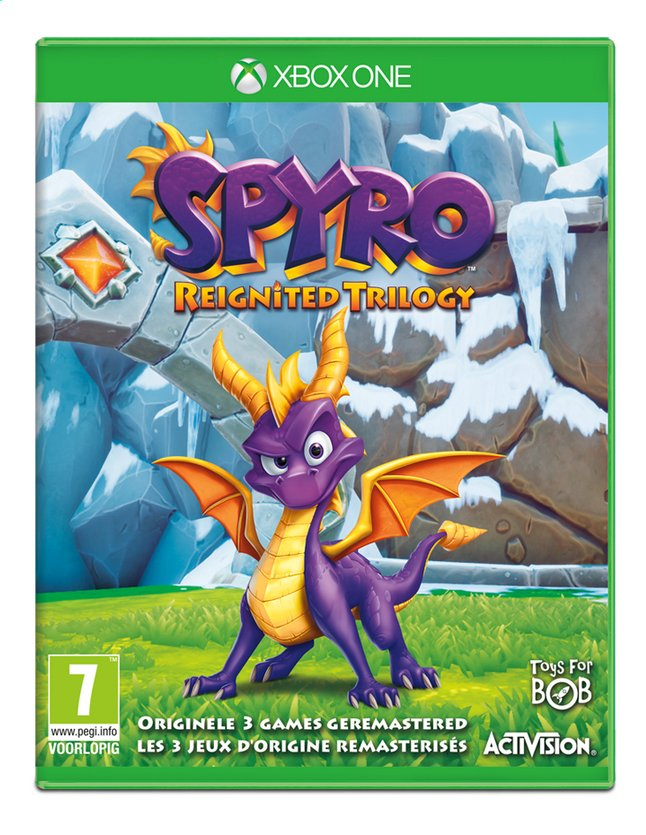 Afbeelding van Xbox One Spyro Reignited Trilogy NL/FR from ColliShop