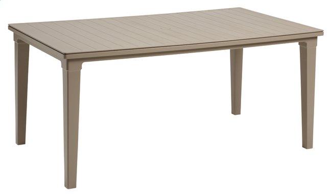 Image pour Allibert table de jardin Futura cappuccino 165 x 94 cm à partir de ColliShop