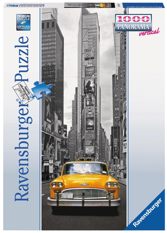 Afbeelding van Ravensburger puzzel New York Taxi from ColliShop